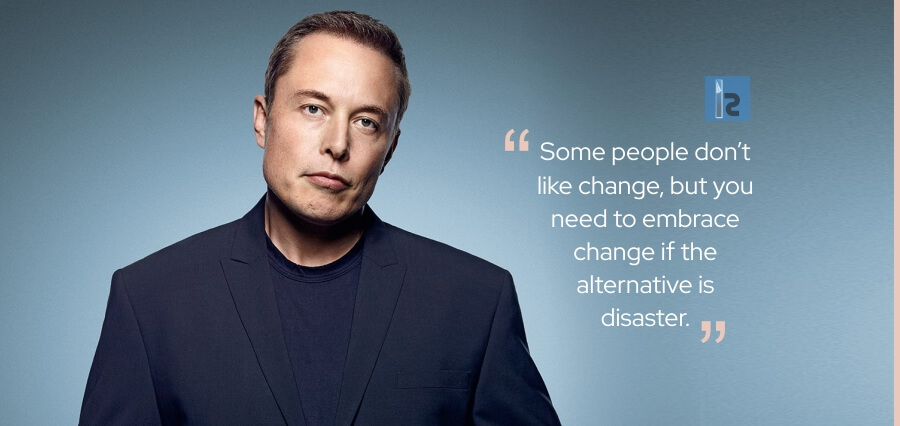 Elon Musk Motivational Quotes for business.