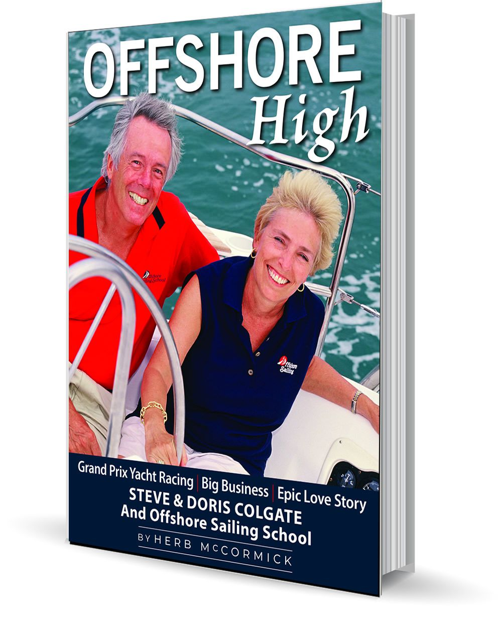 In the realms of both the marine industry and competitive sailboat racing at its highest levels, few if any couples have matched the accomplishments of Steve and Doris Colgate, the longtime proprietors of the world-renowned Offshore Sailing School: With over 160,000 graduates, no one has taught more novices how to sail than Offshore. A scion of the Colgate family of Colgate-Palmolive fame, and the daughter of an award-winning scientist, Steve and Doris seem an unlikely match. Steve honed his skills as a world-class racing sailor on Long Island Sound, and after a stint in the Air Force and a return to New York, almost by happenstance he opened a sailing school… where he met his future wife. Doris was a pioneer in the sailing world, a world dominated by men. She became the founder of the National Women's Sailing Association, among other yachting-industry initiatives. Their shared story is fascinating on several levels: as an insider's take on yacht racing at the top levels; as a case study in a truly unique and successful business; and, finally, as a good old-fashioned love story.