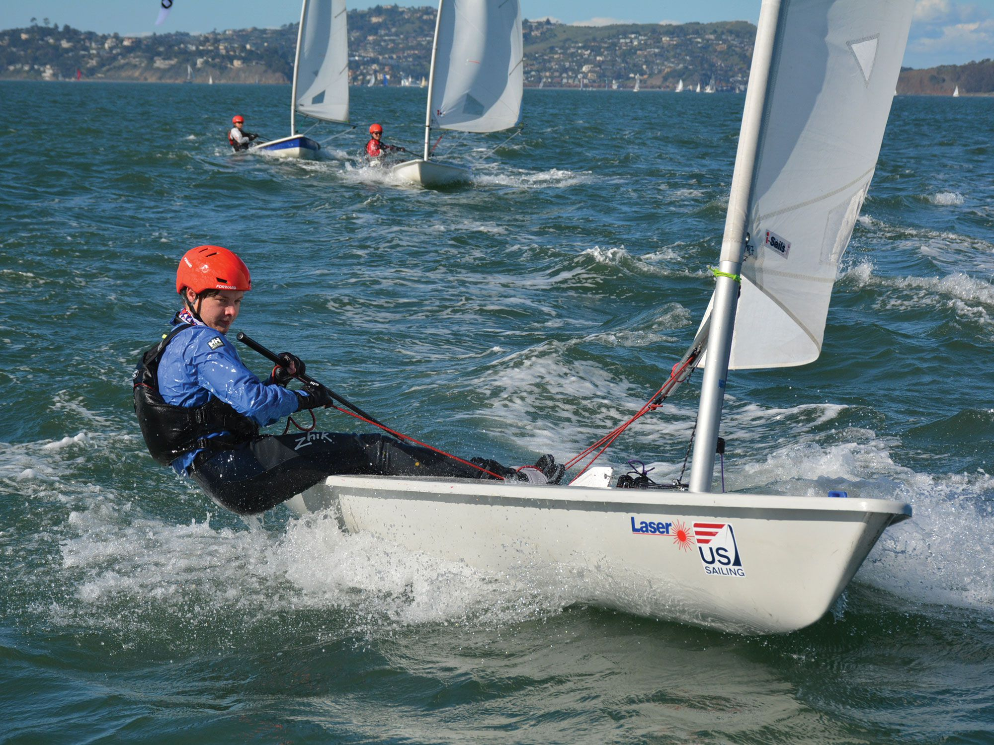 Helmets and sailing—who knew it would come to be? It's not surprising, however, given the greater usage in junior sailing on up to the America's Cup.
