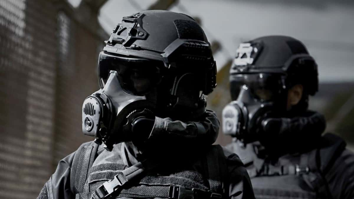 Avon Rubber's MP-PAPR and N49 helmet