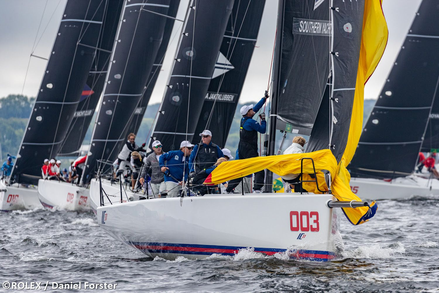 On the final day of the Rolex New York YC Invitational Regatta, Southern YC's team sailed a calculated race to secure its second regatta win.